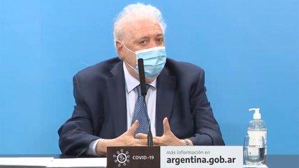 Ginés González García, ministro de Salud