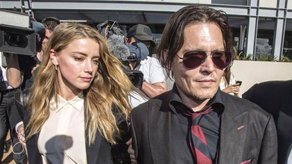 Johnny Depp y Amber Heard protagonizan una cruda batalla legal con acusaciones de cruzadas por abuso físico y emocional (Reuters)