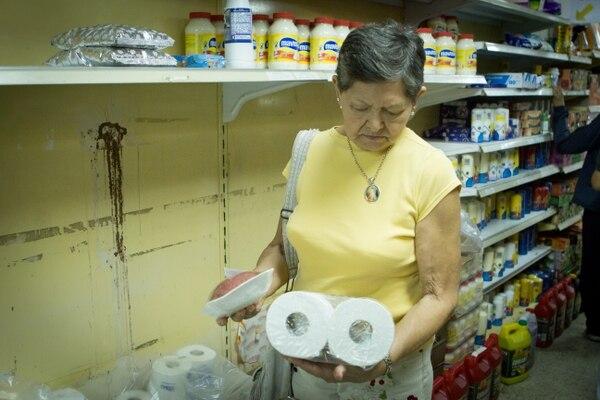 """""""Como o lavo la ropa"""", dice Diosdada"""