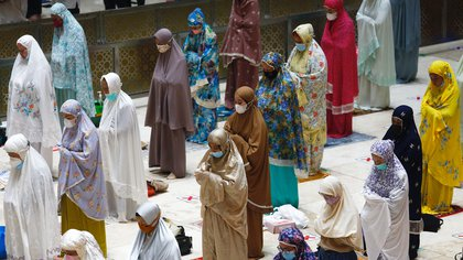 Las mejores fotos del inicio del Ramadán