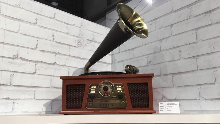 El gramófono Victrola