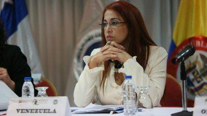 Antonieta Carporale, ex ministra de salud venezolana. (Twitter)