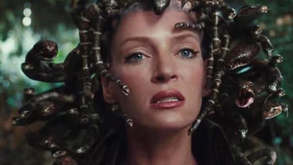 Uma Thurman como Medusa en Percy Jackson and the Olympians: The Lightning Thief