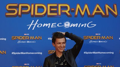 Imagen de archivo del actor Tom Holland durante la presentación de la película 'Spiderman: Homecomming'. EFE/Alejandro García/Archivo