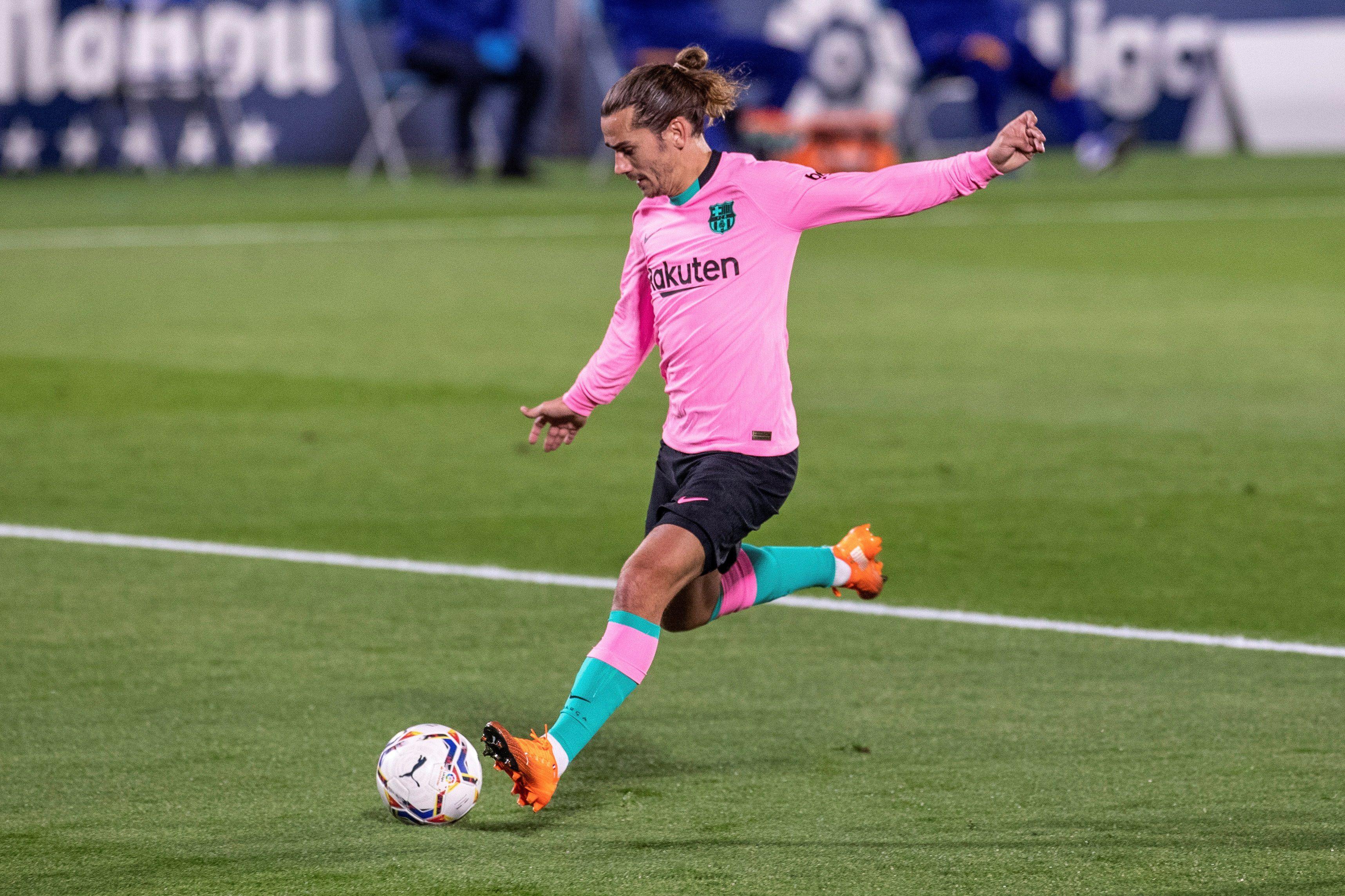 Griezmann sigue sin marcar goles en esta temporada con el Barcelona (EFE)