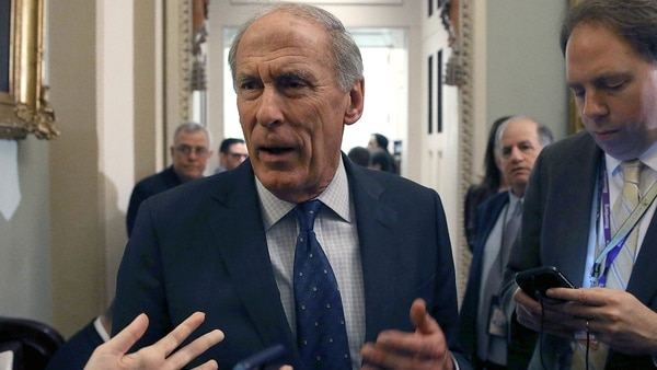 Dan Coats, director de Inteligencia Nacional (Getty Images)