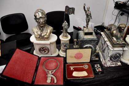 La colección de objetos nazis del anticuario de Beccar