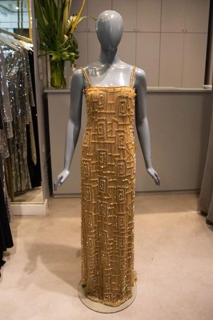 El vestido de María Gorof para Navidad