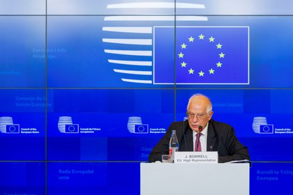 El jefe de la diplomacia europea, Josep Borrell.  Foto: EFE / EPA / JEAN-CHRISTOPHE VERHAEGEN