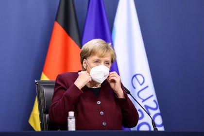 La canciller Angela Merkel. Kenzo Tribouillard/Pool via REUTERS/File Photo