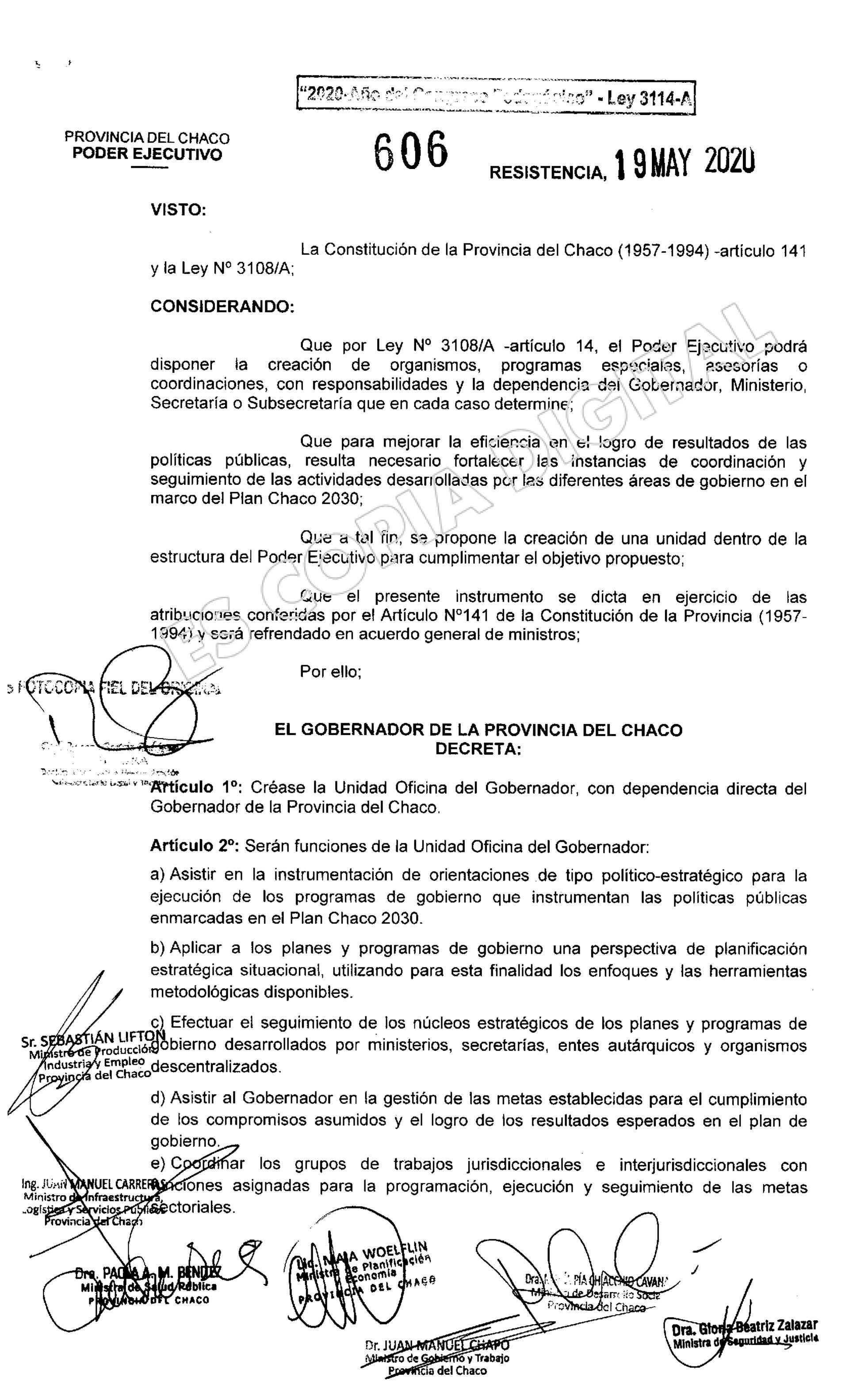 Decreto Capitanich