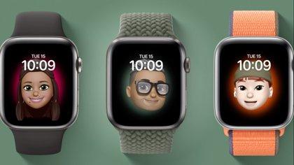 Apple Watch 6 suma la posibilidad de añadir memojis