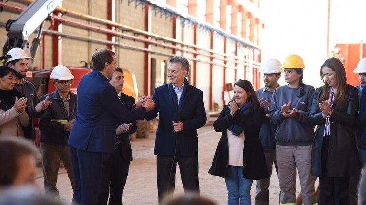 El intendente de La Plata, Julio Garro, valoró la puesta en valor de la línea Roca y la presencia del Presidente