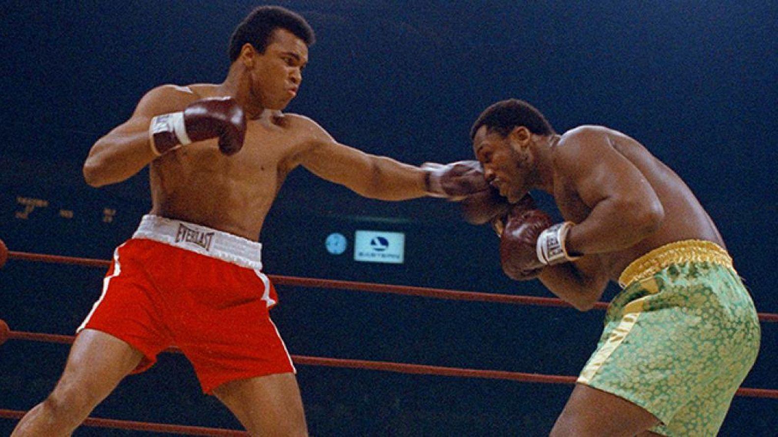 El primer combate entre Muhammad Alí y Joe Frazier fue denominada como la Pelea del Siglo