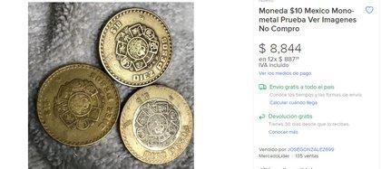 (Captura de Pantalla/ Mercado Libre)