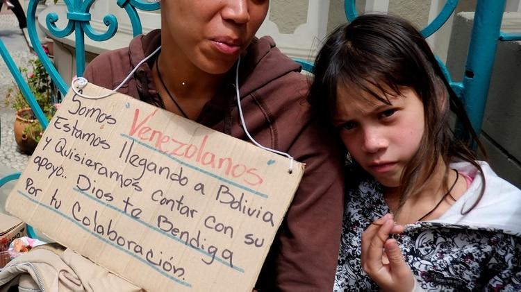 Va en aumento la cantidad devenezolanos en Bolivia(REUTERS/David Mercado)