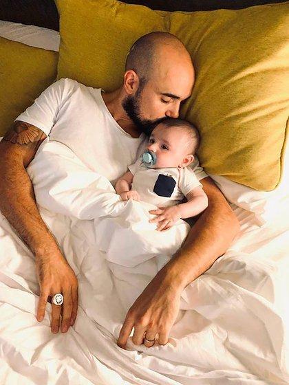 Abel Pintos es papá de Agustín (Foto: @abelpintos)