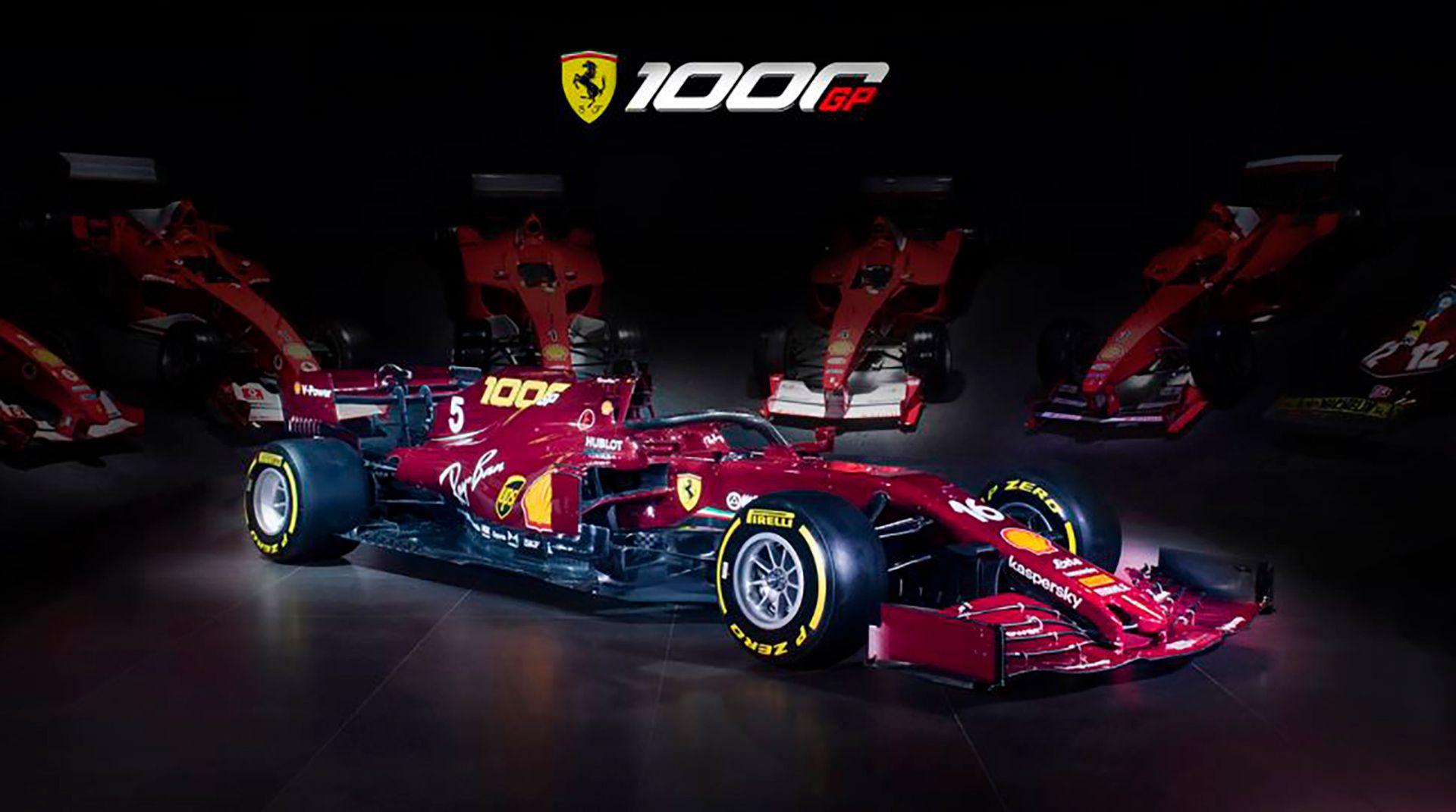 Ferrari especial mil carreras