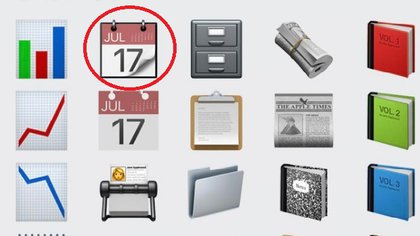 El 17 de julio es la fecha que figura en el emoji del calendario para iOS