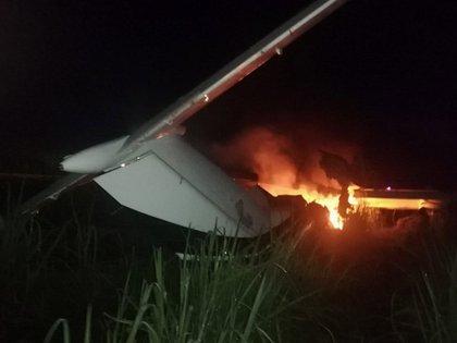 Los aviones pueden llevar más de USD 100 millones en cocaína; muchos de ellos son quemados tras cumplir con su misión. (Fuerza Aérea Guatemalteca/Especial)
