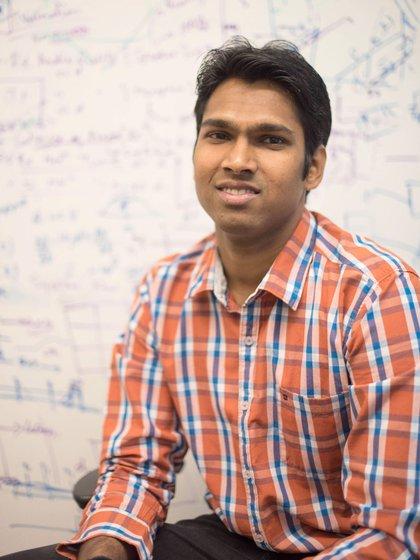 Vamsi Talla, el ingeniero indio que lidera el equipo de investigadores (MB)