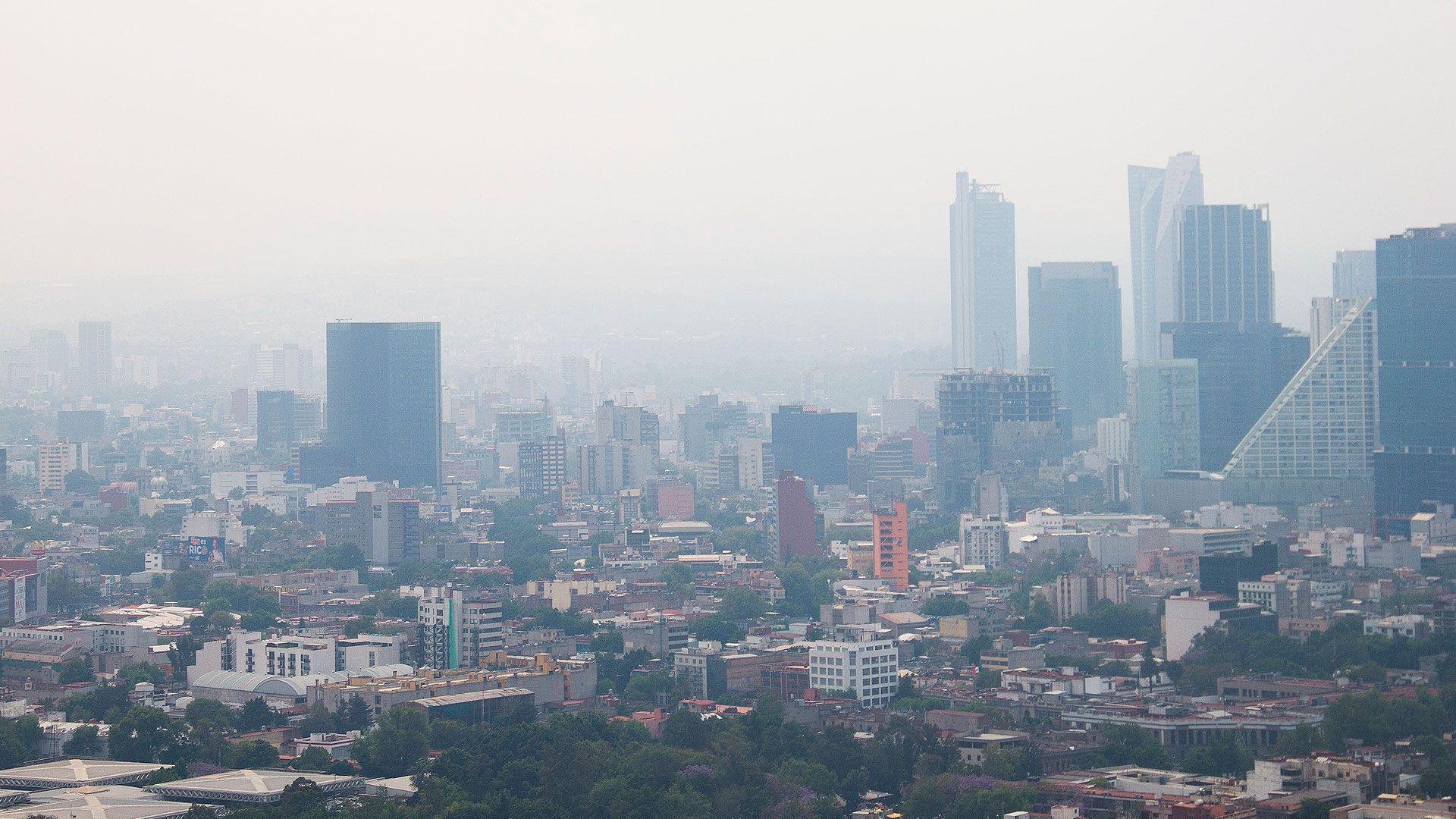 En la pasada contingencia ambientalpasada, la Ciudad de México alcanzó niveles de160 microgramos por metro cúbico en partículas PM 2.5 (Foto: Cuartoscuro)
