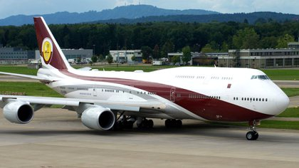 El enorme Boeing 747 cuesta unos 400 millones de dólares en su versión ejecutiva