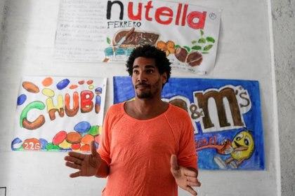 El artista disidente Luis Manuel Otero Alcántara (REUTERS/Alexandre Meneghini)