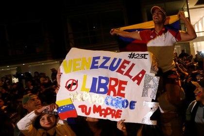 Protestas en Bogotá. (REUTERS/Luisa Gonzalez)
