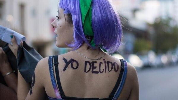 El movimiento de mujeres reclama el aborto legal, seguro y gratuito