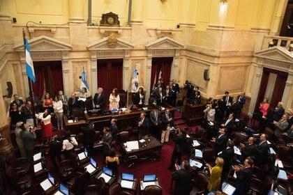 El oficialismo logró el quórum para comenzar el debate pasadas las siete de la tarde.
