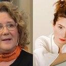 Verónica Llinás y Valeria Bertuccelli