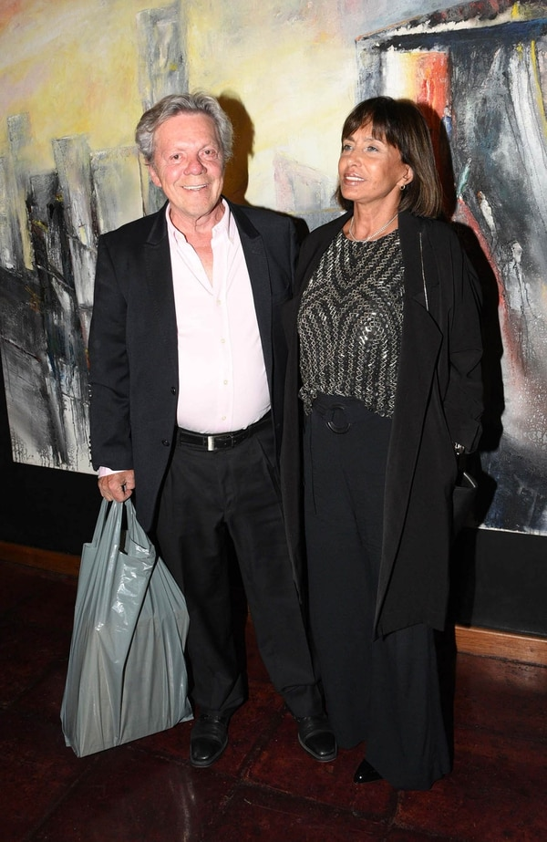 Emilio Disi junto a su mujer, Elvira