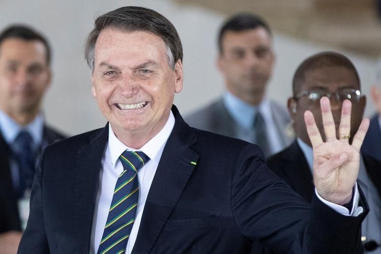 Bolsonarp, satisfecho con Brasilia 2019 (Reuters)