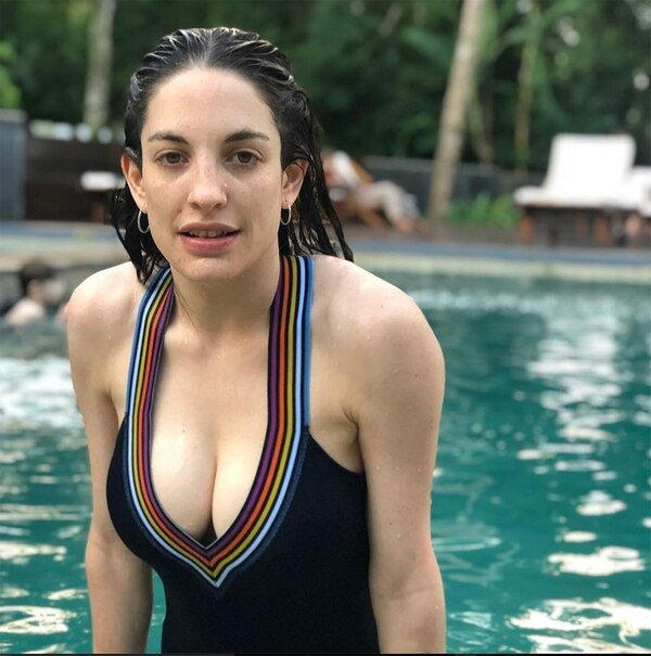 Katia Szechtman, la novia de Lamothe. (Foto Instagram)