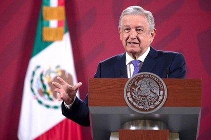 El mandatario mexicano destacó que el último ajuste se hizo en 2007, cuando se hicieron un acuerdo el gobernador del Estado de México (Enrique Peña Nieto) con el Gobierno de Felipe Calderón Foto: Presidencia de México.