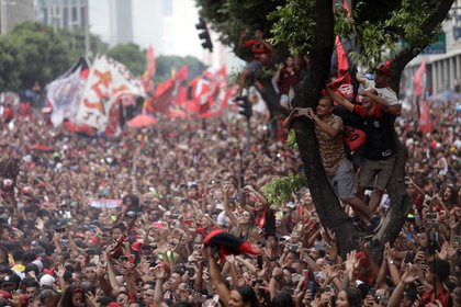 Se estima que el Flamengo tiene cerca de 40 millones de hinchas