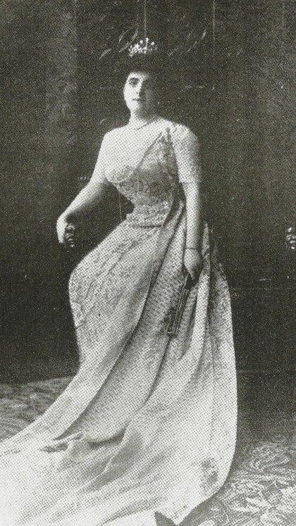La joven Guillermina de Oliveira Cézar.