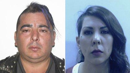 Hugo Rodríguez y Anahí Salcedo.