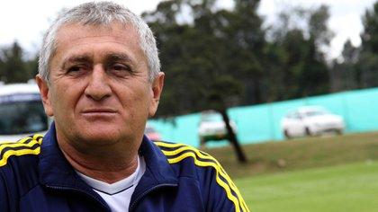El entrenador fue uno de los primeros que dirigió al mediocampista en las categorías inferiores de la Selección Colombia. Foto: Colprensa