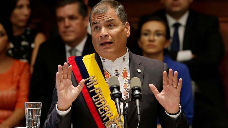 Rafael Correa (AP)