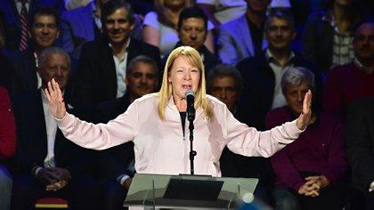 En el 2017, Margarita Stolbizer fue candidata a senadora nacional (Amilcar Orfali)