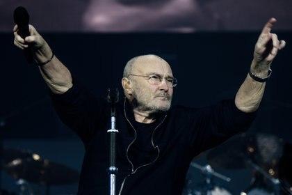 En la imagen, el cantante británico Phil Collins. EFE/Clemens Bilan/Archivo