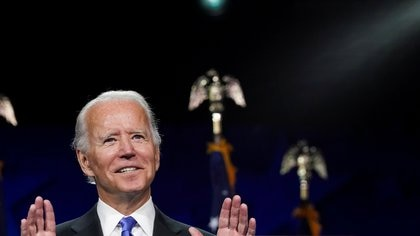 El ex vicepresidente Biden es el favorito para asumir el poder en enero de 2021 (Foto: Kevin Lamarque/ Reuters)