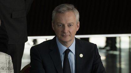 El ministro de finanzas francés, Bruno Le Maire (Adrián Escandar)