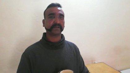 Soldado indio capturado por el ejército de Pakistán. (@OfficialDGISPR)