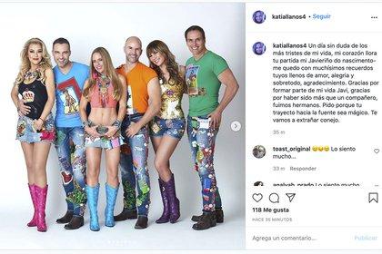 El reencuentro de Garibadi en 2018 no incluyó a los integrantes originales del grupo (Foto: Instagram @ pkatiallanos4)