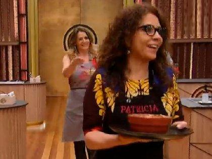 Patricia Sosa participó de la primera edición de Masterchef Celebrity (Foto: Video Masterchef Celebrity, Telefé)