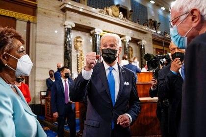 ARCHIVO. El presidente Joe Biden en el Capitolio.  Melina Mara/Pool via REUTERS