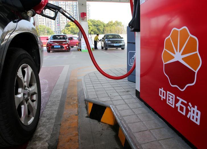 Foto de archivo. El logo de PetroChina aparece en una gasolinera en Nantong, provincia de Jiangsu, China. 28 de marzo de 2018. REUTERS/Stringer.
